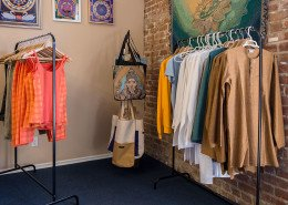 Clothes, Bags, Art Gallery