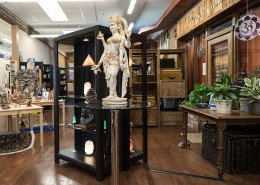 Boutique Statue and Showcase...