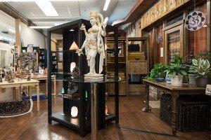 Boutique Statue and Showcase...